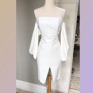 Bardot Ivory Cocktail Dress